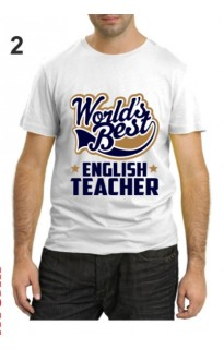"Футболка ко дню учителя ""English teacher"""