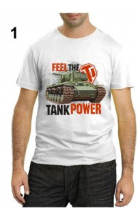 "Футболка World of tanks ""Feel the tank power"""