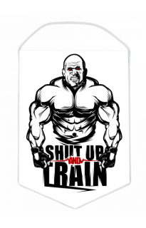 "Вымпел ""Shut up and train"""